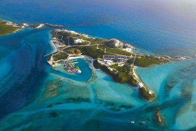 <strong>Blackadore Caye, Belize<br /> Owned by: Leonardo DiCaprio</strong>