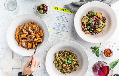 "Jamie's Italian restaurant ""We Love Veg"" menu to celebrate new Veg cookbook"