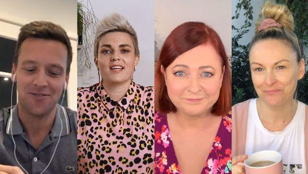 Nine presenters and hosts