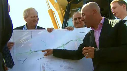 Extra lanes will be added between Sunshine Avenue and EJ Whitten Bridge, and across the bridge to the Calder Freeway. (9NEWS)