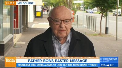 Fr Bob Maguire's Easter message this Good Friday
