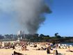 'Suspicious' fire burns metres from popular Sydney beach