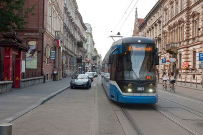 Karmelicka street in Kraków, 2014