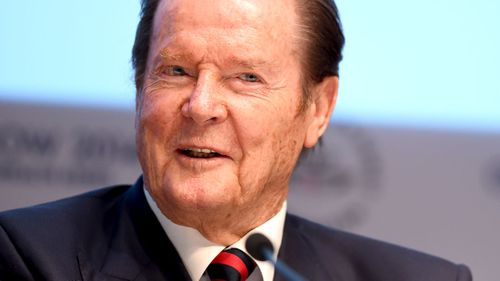Moore passed away in Switzerland aged 89. (AAP)