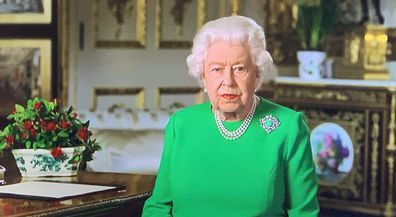 Queen Elizabeth addresses the nation