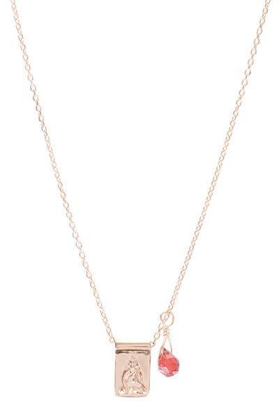 "<a href=""http://www.theiconic.com.au/little-buddha-sleeping-beauty-necklace-212038.html?nosto=ClickFrenzy-Detail-Footer"" target=""_blank"">Necklace, $155, By Charlotte at theiconic.com.au</a>"