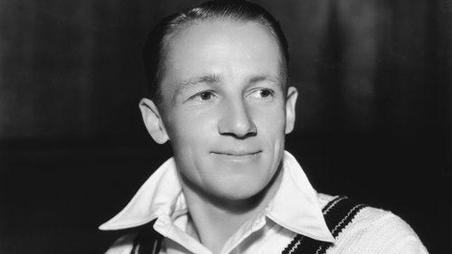 Australian cricket legend Don Bradman, 1934.  (Allsport, Hulton Archive, Getty Images)