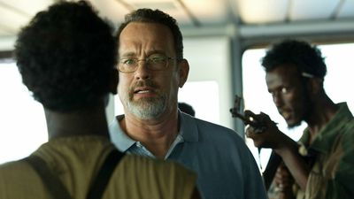<p><em>Captain Phillips</em> (2013) – One of Hanks' latest films to get the Academy Award nod, Captain Phillips is a survival thriller inspired by the true story of the 2009 Maersk Alabama hijacking by pirates in the Indian Ocean. It received a total of six nominations.</p> <p>(Scott Rudin Productions/Michael De Luca Productions/Trigger Street Productions/Columbia Pictures)</p>
