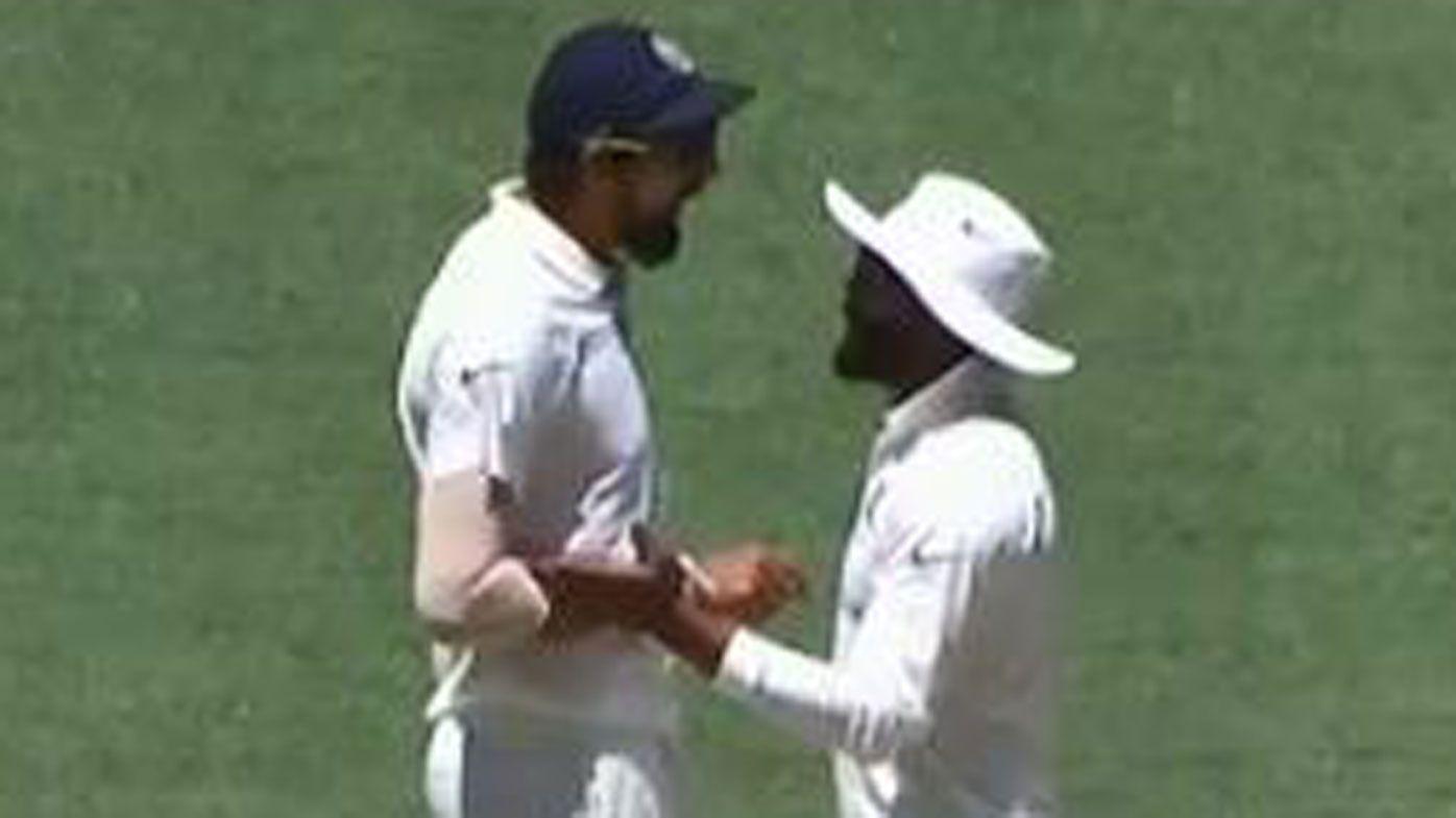 India stars Ishant Sharma and Ravi Jadeja unload in nasty on-field stoush
