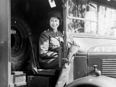 Princess Elizabeth, January 1945