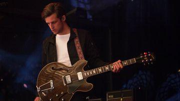 Sam Margin, frontman of NSW band The Rubens. (AAP)