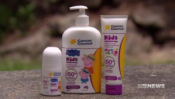 VIDEO: Fears popular children's sunscreen causes severe allergic reactions