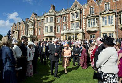 The Queen at Sandringham Estate