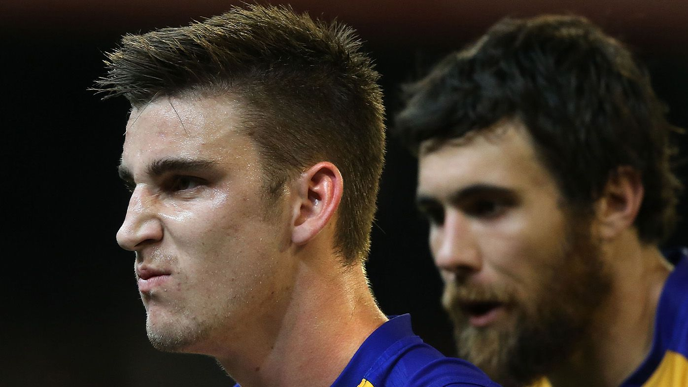 West Coast star Elliott Yeo plays down seriousness of fiery on-field spat with Jeremy McGovern