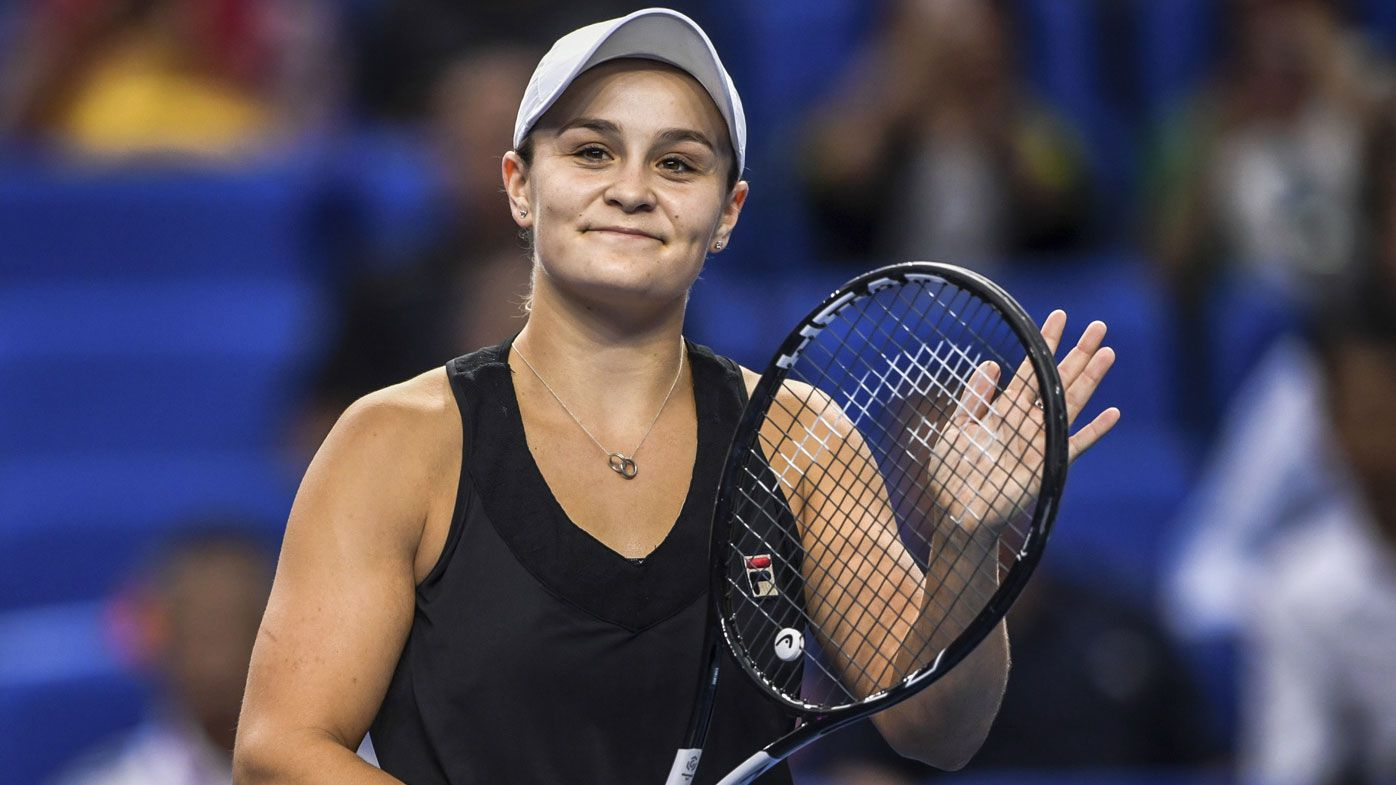 Ash Barty soars to career-high ranking with WTA Elite Trophy title win
