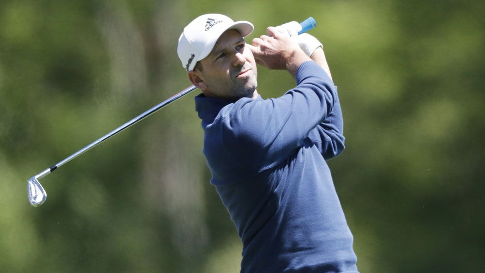 Sergio Garcia has a share of the lead. (AAP)
