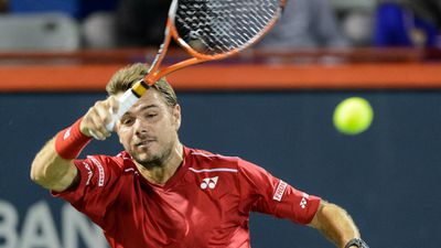 Stan Wawrinka announced earlier this year that he had separated from his wife Ilham Vuilloud. (AFP)
