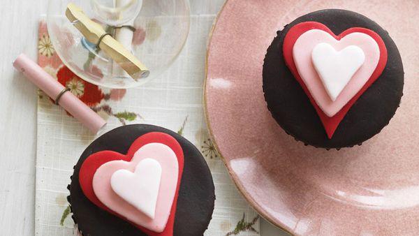 Chocolate Valentines Cupcake