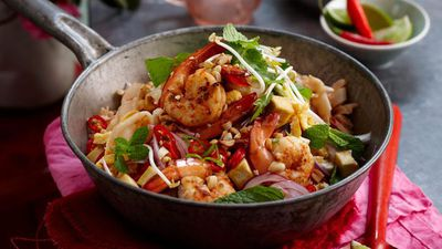 "Recipe: <a href=""http://kitchen.nine.com.au/2016/05/13/12/59/tamarind-pad-thai"" target=""_top"">Tamarind pad Thai</a>"
