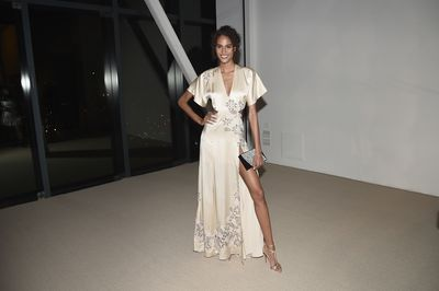 Cindy Bruna in Jonathan Simkhai