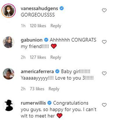Wilmer Valderrama, announce birth, first baby, daughter, messages