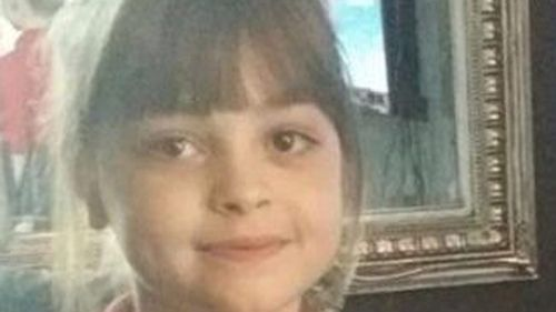 Eight-year-old Saffie Rose Roussos was killed in the blast.