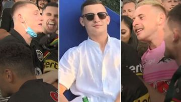 Nathan Cleary's friends accused of alleged border breach to see NRL GF
