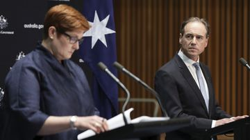 Marise Payne and Greg Hunt