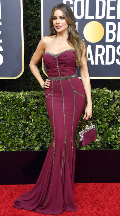 Sofia Vergara at the 2020 Golden Globes.