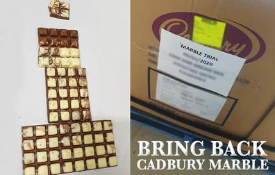 Cadbury Marble trial