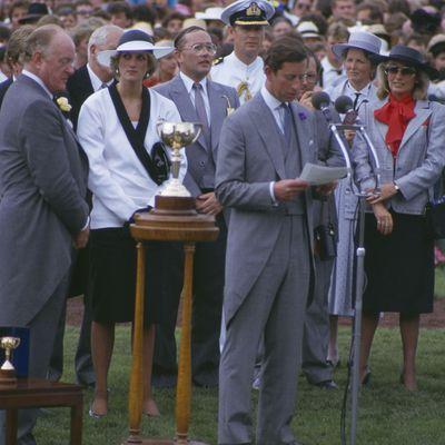 Prince Charles and Princess Diana, 1985.