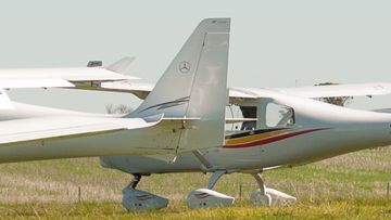 Light plane WA stock image