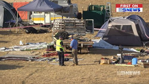 Six suspected drug overdoses have occurred at the Rainbow Serpent music festival.