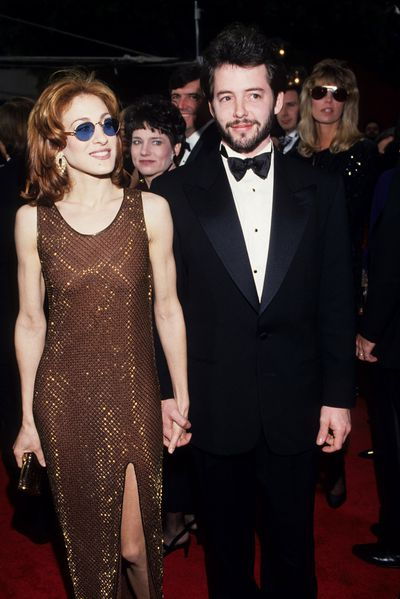 Sarah Jessica Parker and Matthew Broderick at the 65th Annual Academy Awards, 1993