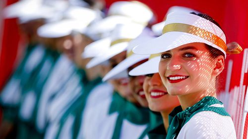 Grid girls have been axed by F1 organisers. (AAP)
