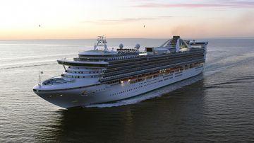 A Princess Cruises ship.  (AAP)