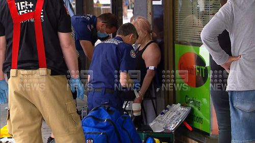 A woman has been mauled by a dog in Cronulla.