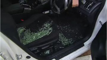 An Adelaide taxi driver has been assaulted with a brick and a screwdriver early this morning.
