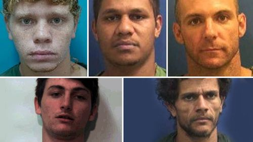 Of the 10 people who broke out of Greenough Regional Prison near Geraldton this week, five managed to get away yesterday. Picture: Supplied.