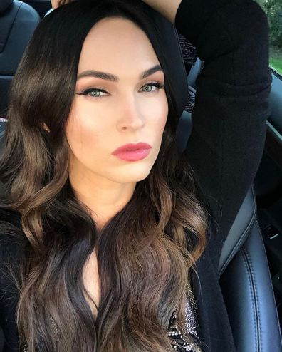 Megan Fox, Instagram, photo, car, selfie