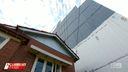 The eyesore seven storey 'mega wall' dwarfing elderly couple's house