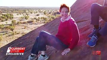'Our opinion doesn't matter?' Firestorm over Hanson's Uluru climb