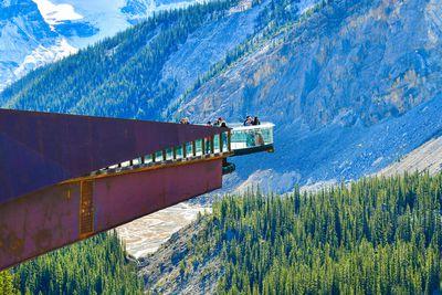 <strong>Glacier Skywalk in Jasper National Park, Alberta, Canada</strong>