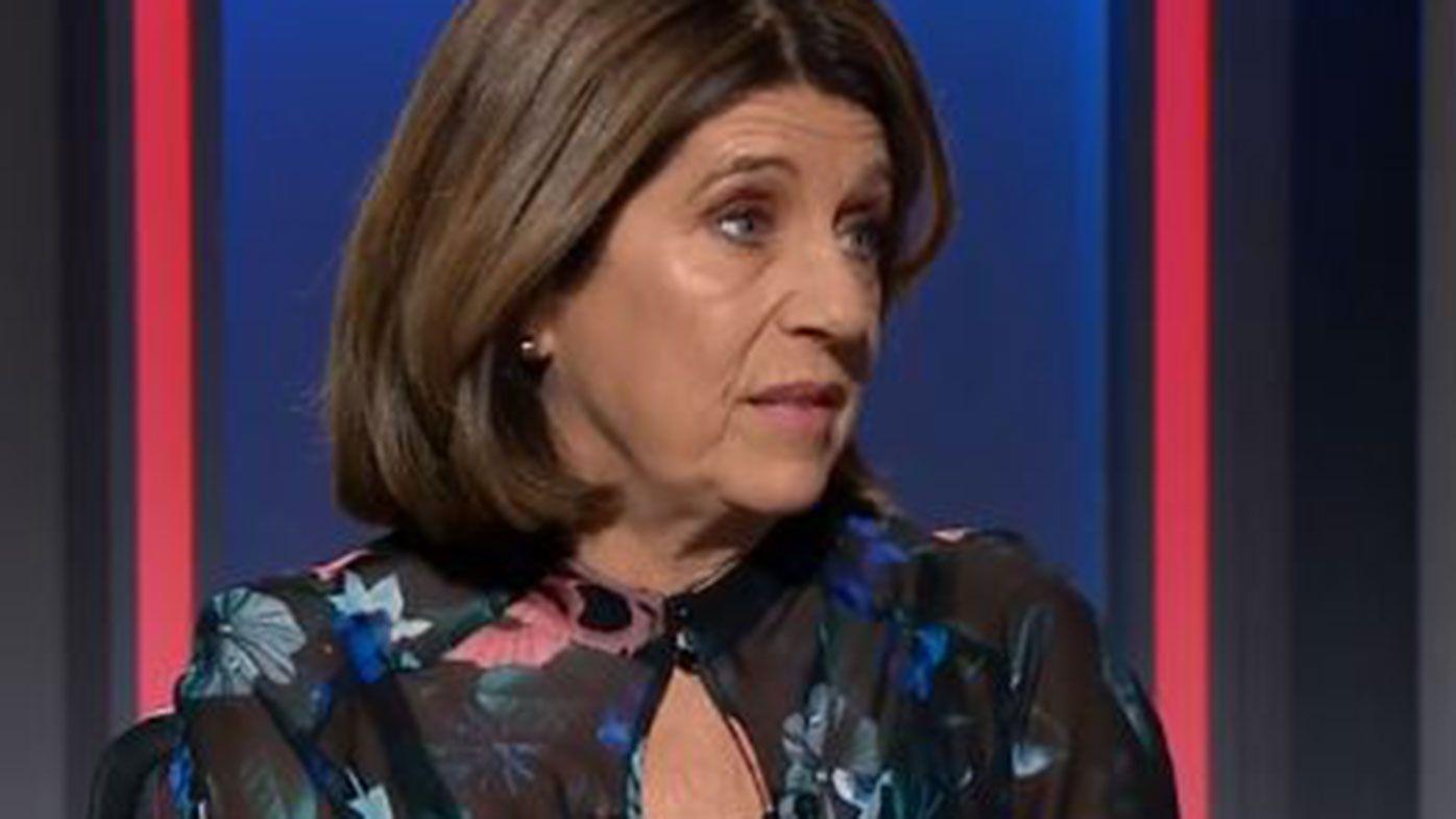 Leading AFL commentator Caroline Wilson