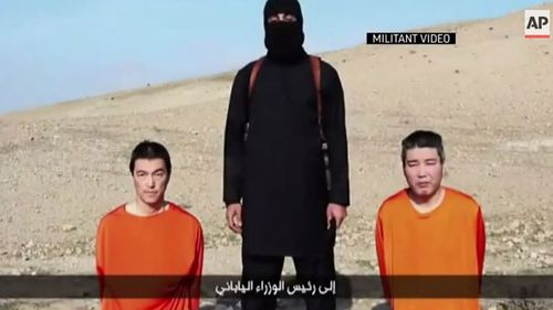 The execution follow the separate killing of Japanese hostages Haruna Yukawa and Kenji Goto.
