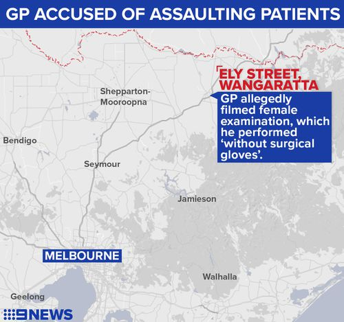 A woman raised the alarm after having a female health test at the practice on October 30 last year. (9NEWS)