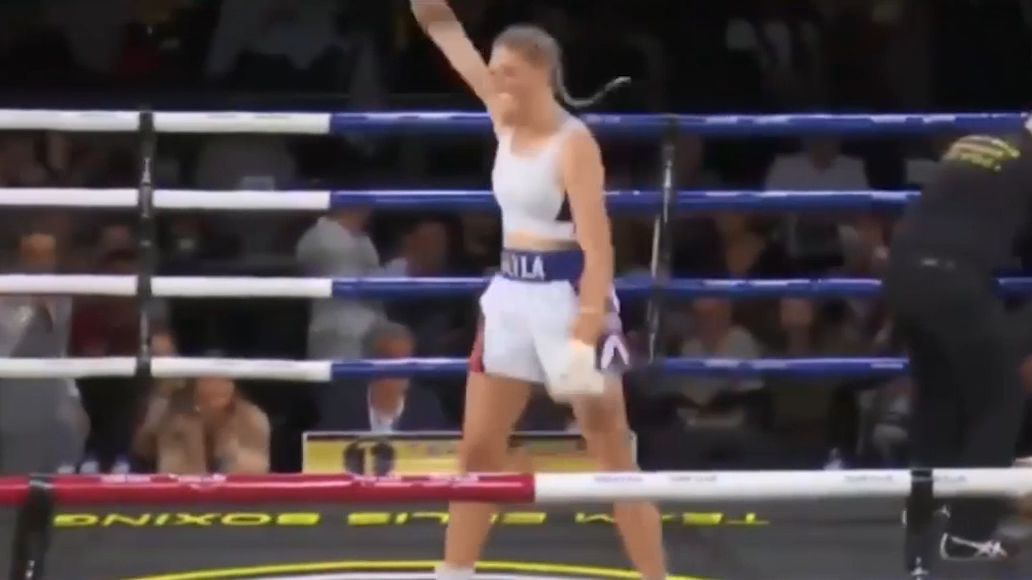 Tayla Harris claims Australian Female Middleweight Title with savage second round KO
