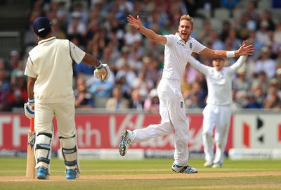Stuart Broad - Destroys top orders with line and length.