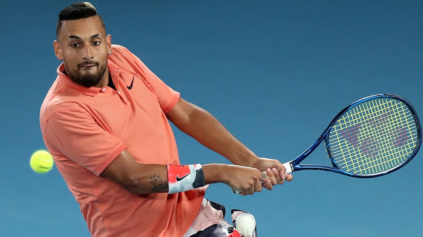 Mark Philippoussis says Nick Kyrgios can win multiple Grand Slams despite Open exit