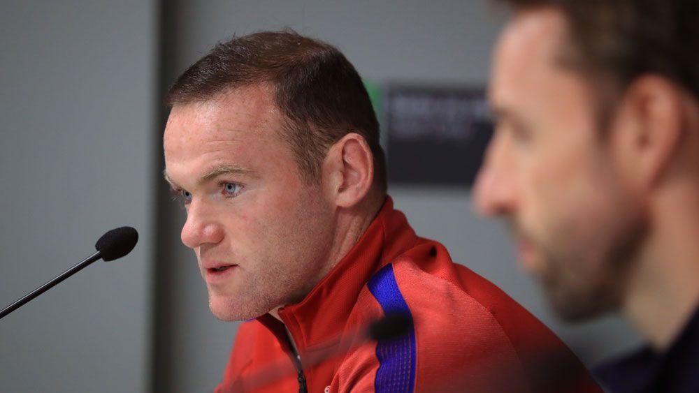 Wayne Rooney. (AAP)